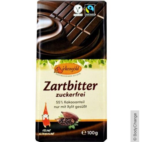 Zartbitter Schokolade mit Xylit (100g)
