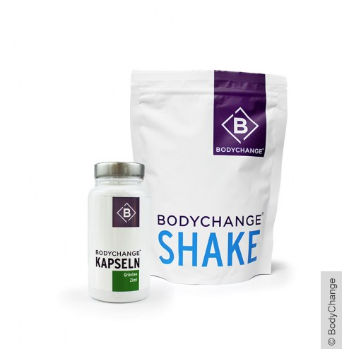 1x Shake (300g) + 1x Grüntee-Zimt Kapseln (60 Stück)