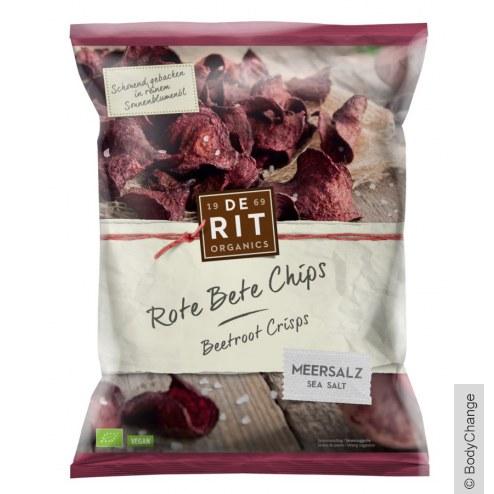 Bio Rote Bete Chips mit Meersalz (75g)