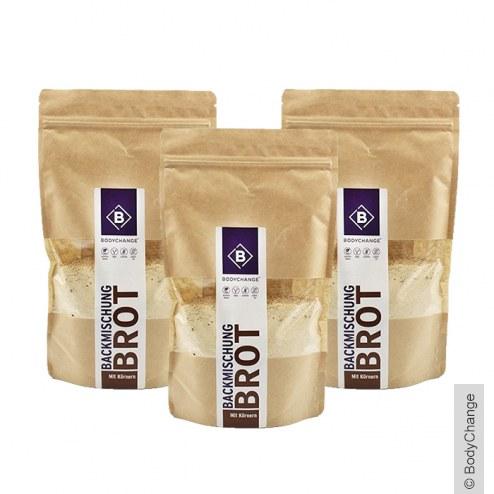Sparpaket: 3x Protein Brotbackmischung