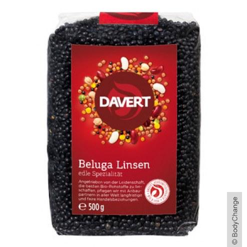 Bio Beluga Linsen schwarz (500g)