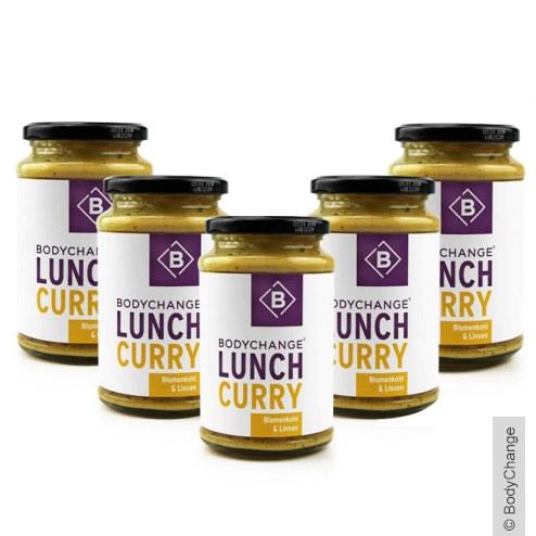 Sparpaket: 5x Lunch Blumenkohl & Linsen Curry