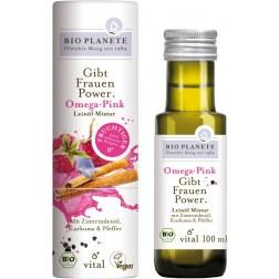 Omega Pink Bio Leinölmixtur (100ml)
