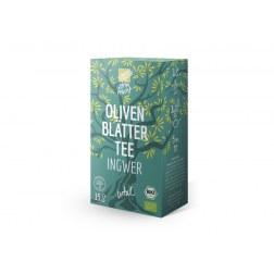 Bio Olivenblättertee Ingwer (15 Beutel)