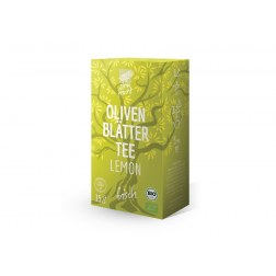 Bio Olivenblättertee Lemon (15 Beutel)