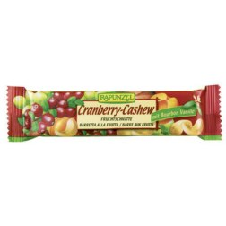 Bio Fruchtschnitte Cranberry-Cashew (40g)