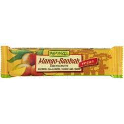 Bio Fruchtschnitte Mango-Baobab (40g)