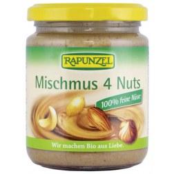 Bio Mischmus 4 Nuts (250g)