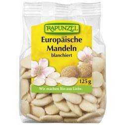 Bio Blanchierte Mandeln aus Europa (125g)