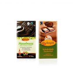 Sparpaket: 2x Schokolade mit Xylit