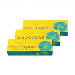 Sparpaket: 3x Bio Riegel Kokos-Cacao