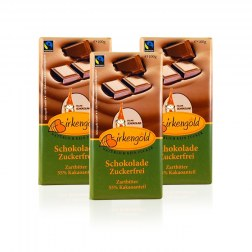 Sparpaket: 3x Schokolade mit Xylit