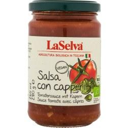 Salsa con capperi Bio Tomatensauce mit Kapern (280g)