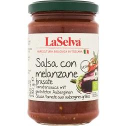 Salsa con melanzane Bio Tomatensauce mit Auberginen (280g)