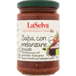 Tomatensauce mit Auberginen Bio (280g)