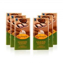 Sparpaket: 6x Schokolade mit Xylit