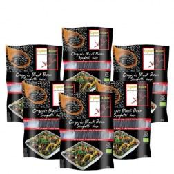 6x Spaghetti aus schwarzen Bohnen (6x200g)