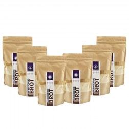 Sparpaket: 6x Protein Brotbackmischung mit Körnern