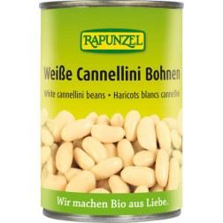 Bio Weiße Cannellini Bohnen gekocht (400g)