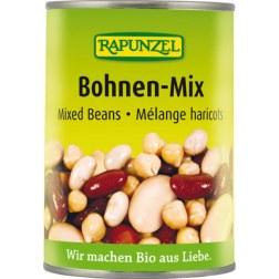 Bio Bohnen-Mix gekocht (400g)