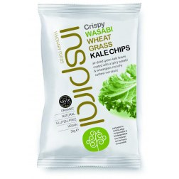 Bio Kale Chips Wasabi-Weizengras (30g)
