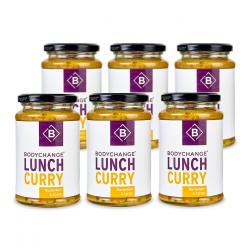 6x Lunch Blumenkohl & Linsen Curry