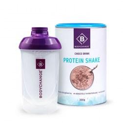 Sparpaket: Protein Shake (Schoko) + GRATIS Shaker