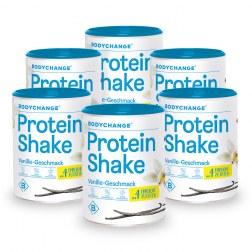 6x Protein Shake - Vanille oder Schoko