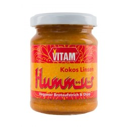 Kokos Linsen Hummus (125g)