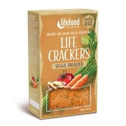 Bio Cracker Gemüse ohne Salz (90g)