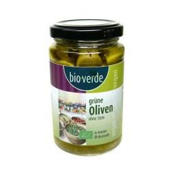 Bio grüne Oliven ohne Stein (200g)