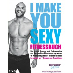 "Fitnessbuch ""I MAKE YOU SEXY"""