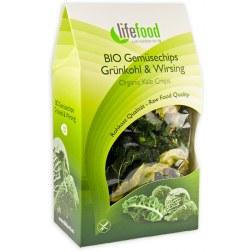 Bio Gemüsechips Grünkohl & Wirsing (15g)