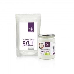 Xylit (750g) + Bio Kokosöl (500ml)
