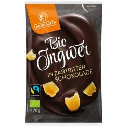 Bio Ingwer in Zartbitter-Schokolade (70g)
