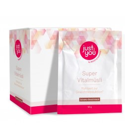 Just You! Super Vital-Müsli Schoko zur Gewichtsreduktion (10x53g)