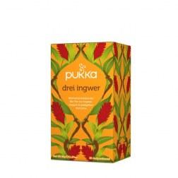 Bio Drei Ingwer Tee (20 Beutel)