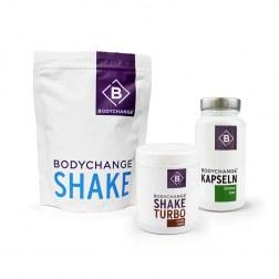 Sparpaket: Shake + Grüntee Kapseln + Shake-Turbo
