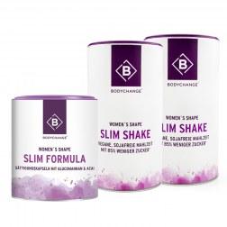 Sparpaket: 2x Slim Shake + Slim Formula