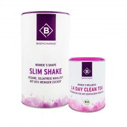 Sparpaket: Slim Shake + 14 Day Clean Tea