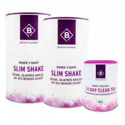 Sparpaket: 2x Slim Shake + Clean Tea