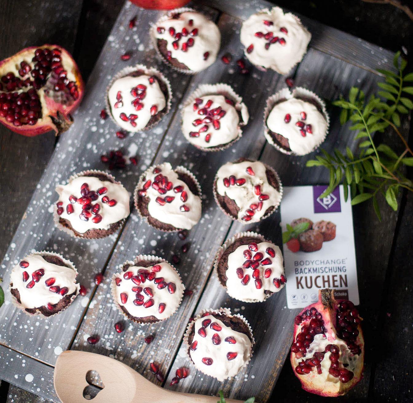 Schoko Kokos Cupcakes