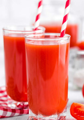 Tomaten Basilikum Shake