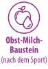 Obst-Milch-Baustein